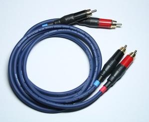 Van-Damme Blue Series Studio Grade RCA cable 1m